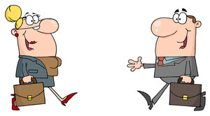 Business clipart animated. People