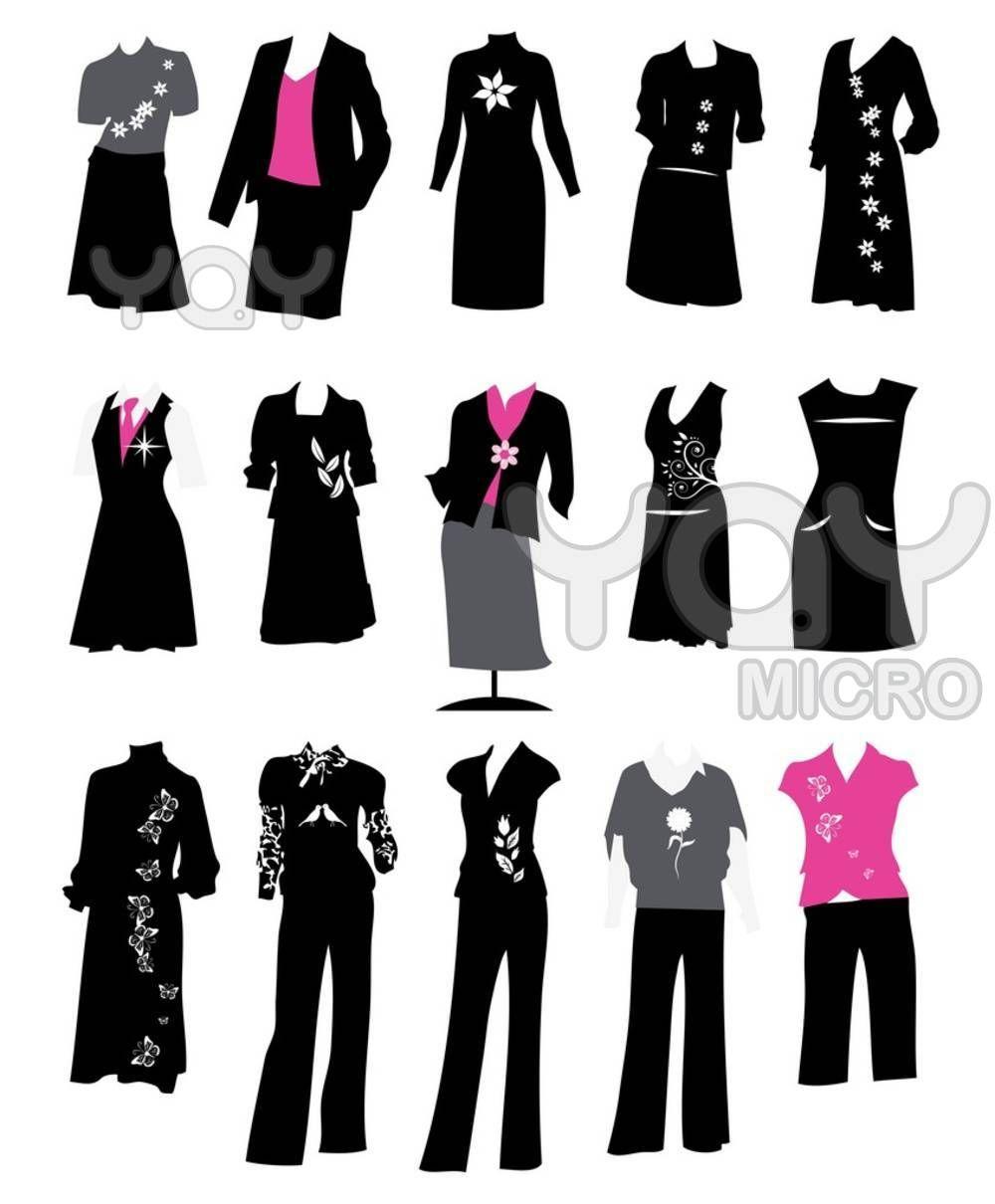Dress code casual best. Business clipart business attire
