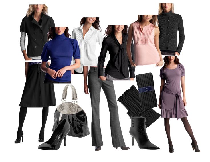 best work clothes. Business clipart business attire