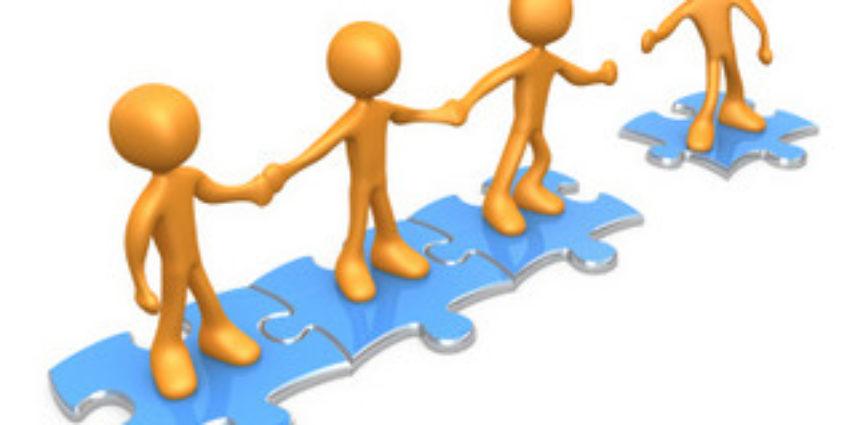 Build a collaborative organization. Business clipart business collaboration
