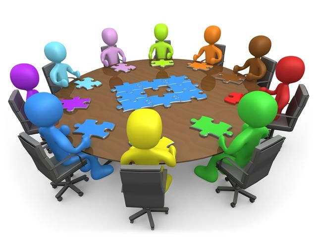 Business clipart business collaboration. Panda free images chamber