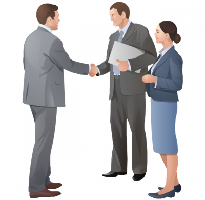 Business clipart business collaboration. Clipartaz free collection presentation