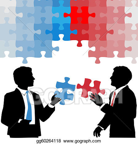 Vector art people hold. Business clipart business collaboration