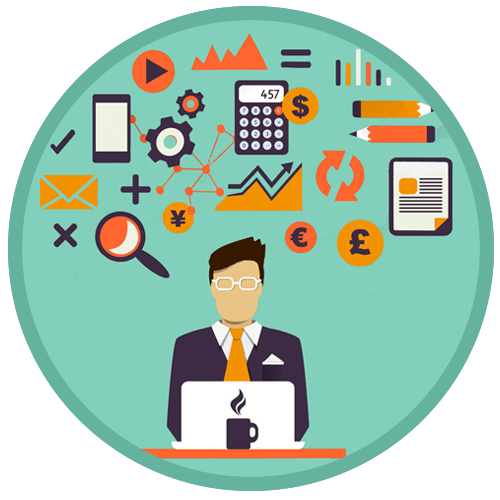 Business clipart business management.  collection of manager
