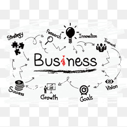 Png images vectors and. Business clipart business management