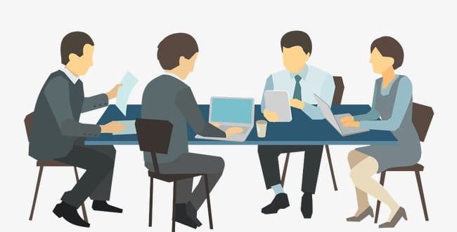 Business clipart business meeting, Business business meeting ...