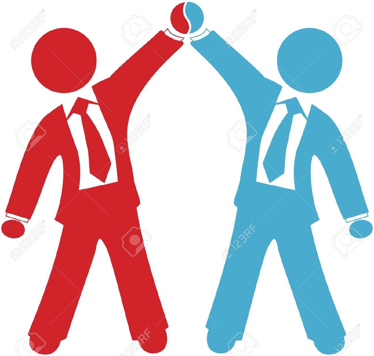 . Business clipart business partner
