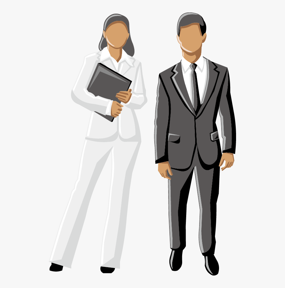 Male clipart corporate man. Men business woman free