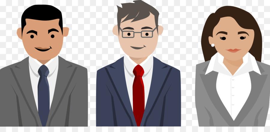 Business clipart business person. Cartoon suit human transparent