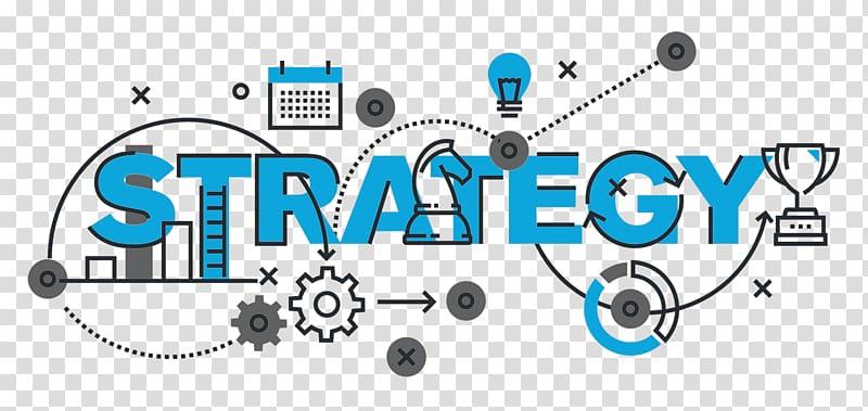 Strategy artwork illustration digital. Marketing clipart business model