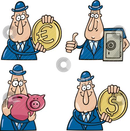 Business clipart cartoon. Funny