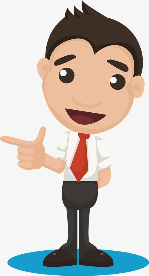 Man people illustration character. Business clipart cartoon
