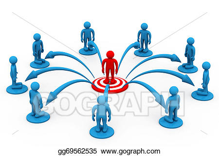 Communication clipart concept. Business stock illustration