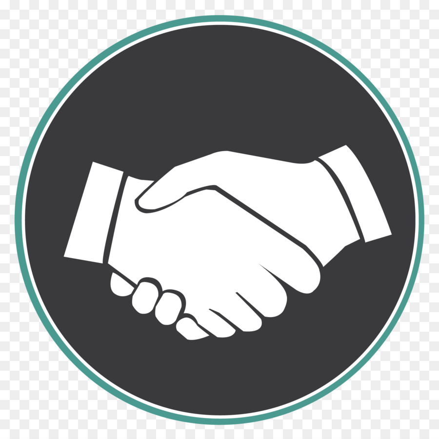 Logo business hand . Handshake clipart buisness