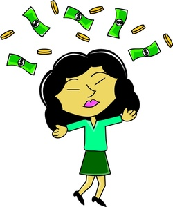 Business clipart happy. Free money image asian