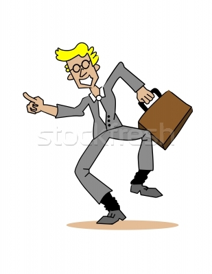 Business clipart happy. Person