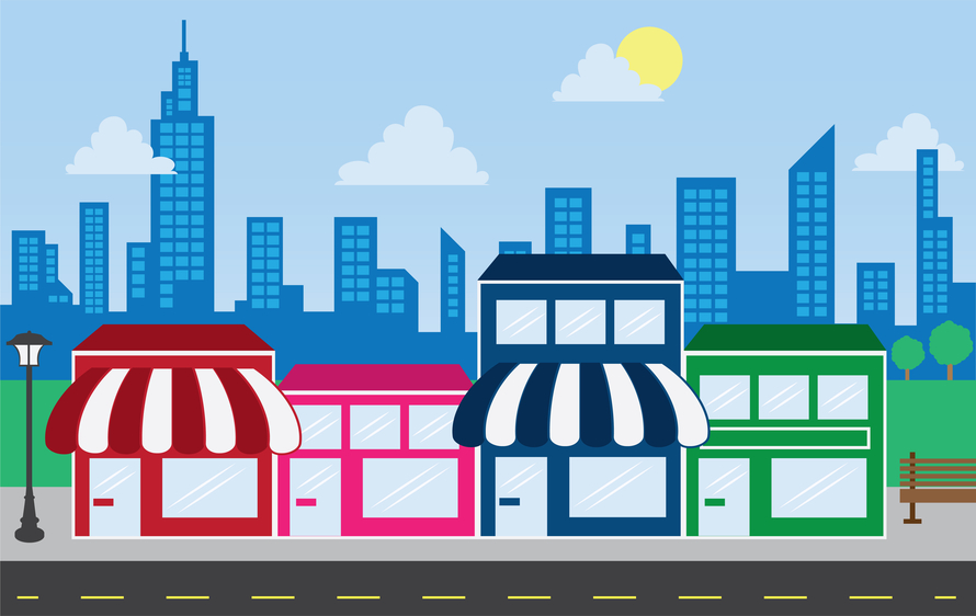 Business clipart local business.  components of a