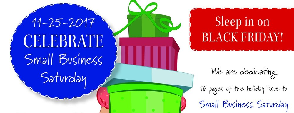 Small saturday life publishing. Business clipart local business