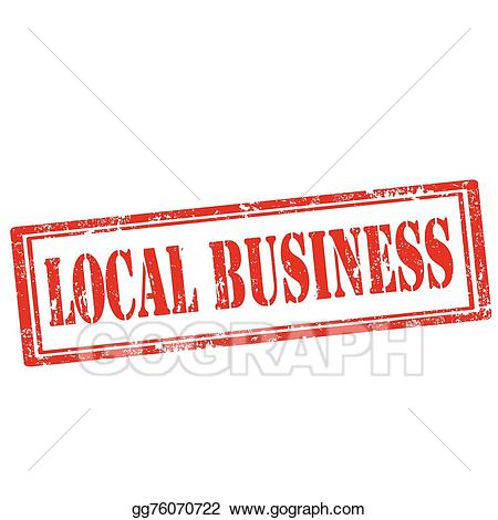 Eps vector stamp stock. Business clipart local business