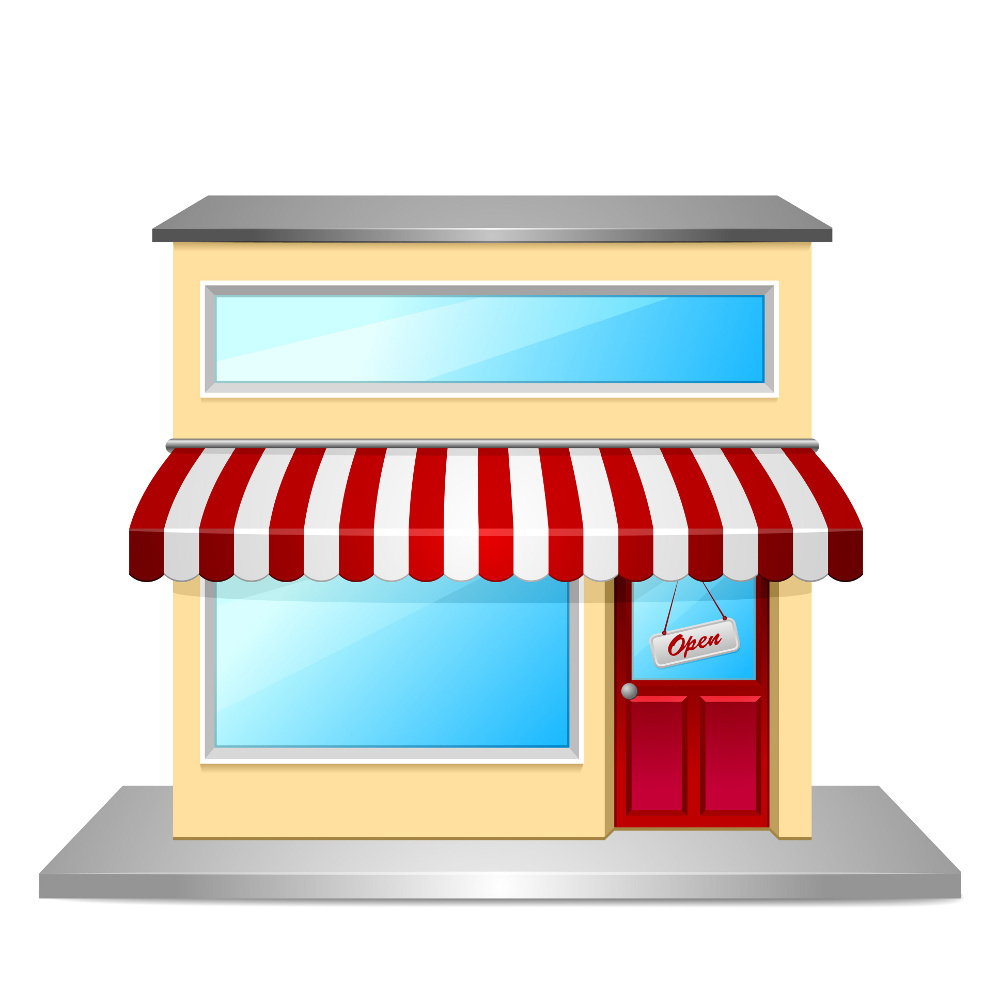 The perfect small online. Business clipart local business