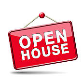 . Business clipart open house