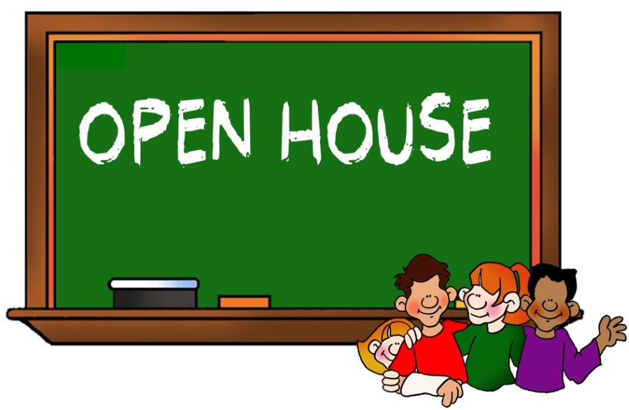 Business clipart open house. Home buckland mills elementary