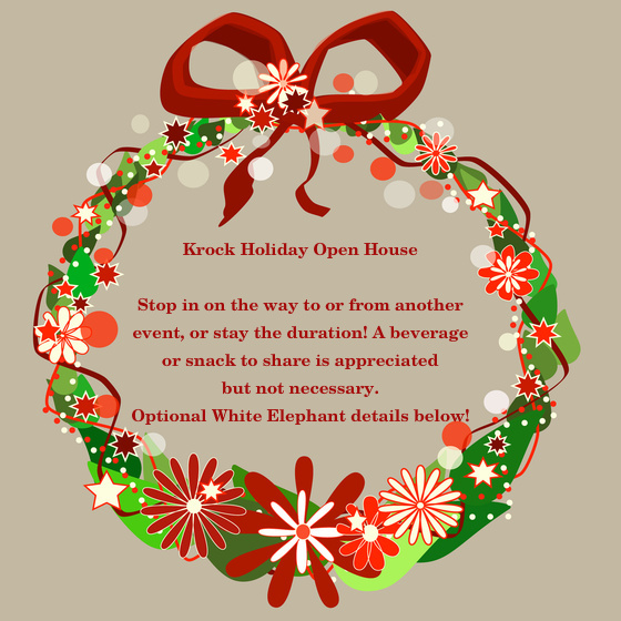 Business clipart open house. Holiday invitation templates incep