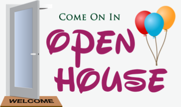 Business clipart open house. Professional quality graphic illustrations