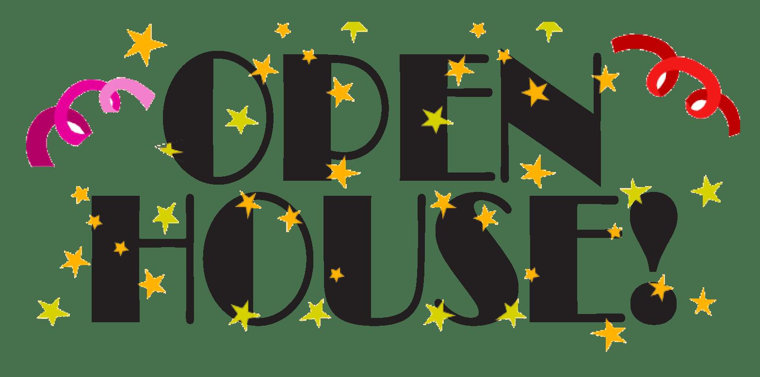 Business clipart open house. Neighbourhood life over the
