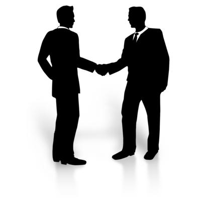 Clipartuse. Business clipart partnership