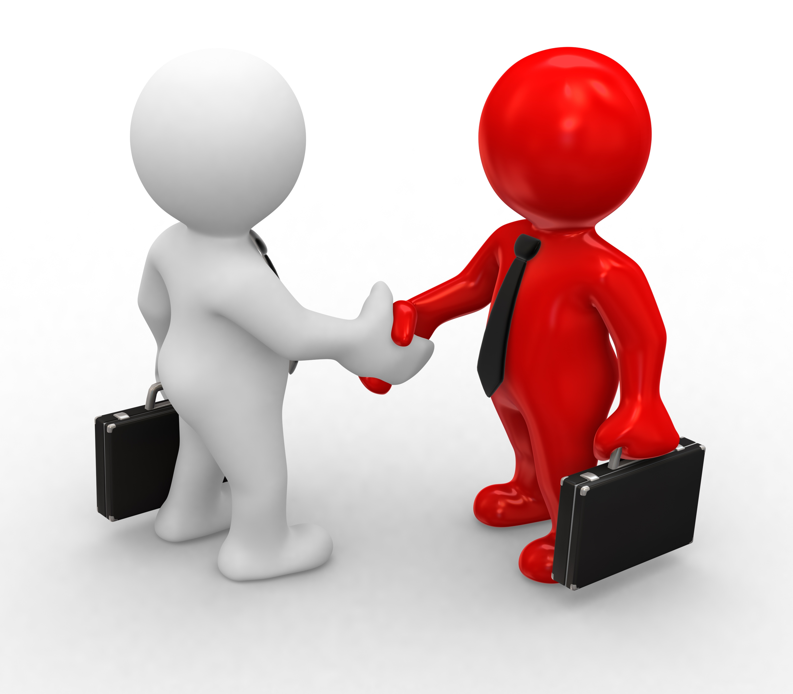 Inadvance and cognitive corporate. Business clipart partnership