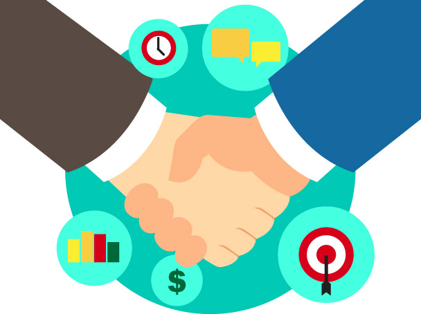 Business clipart partnership. How to bring in