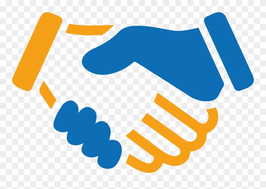 Unique partnership schemes business. Handshake clipart buisness