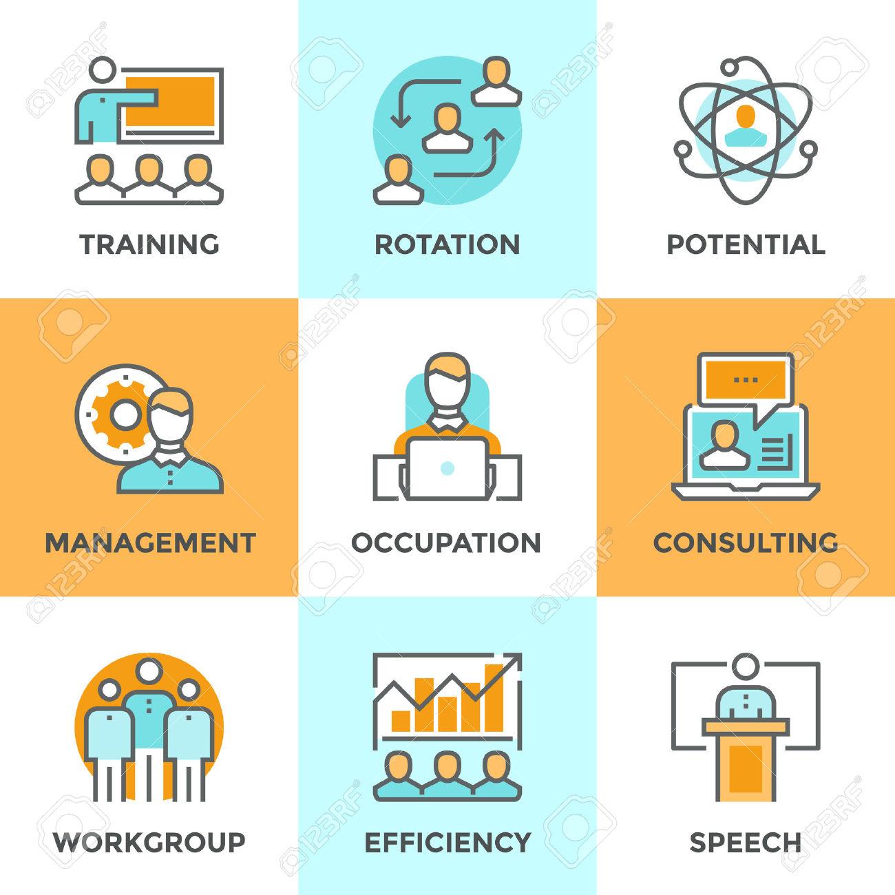 Management . Business clipart professional