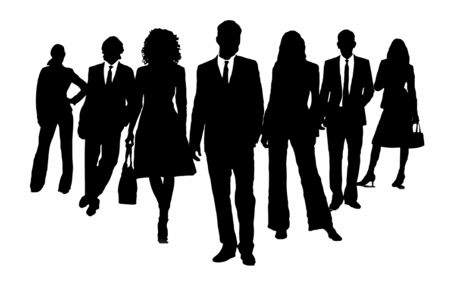 Png clip art free. Business clipart silhouette