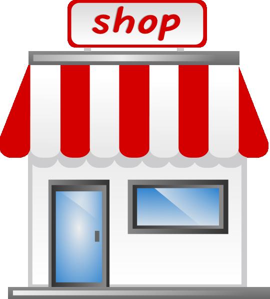 Driver clipart liscense. Shop front icon clip