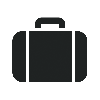 Suitcase pencil and in. Briefcase clipart business