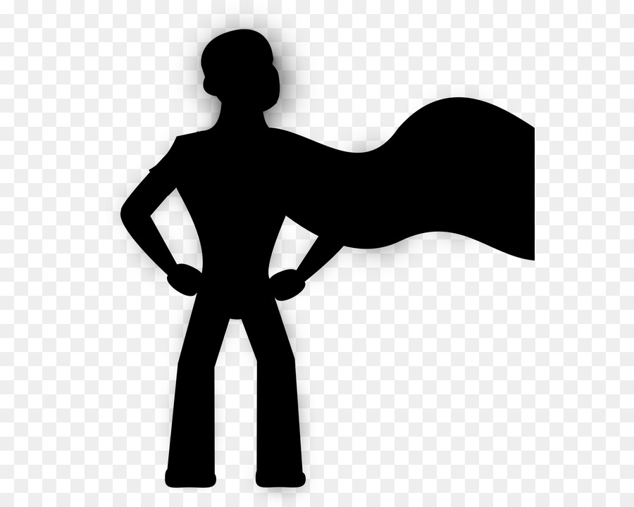 Business clipart superhero. Silhouette royalty free png