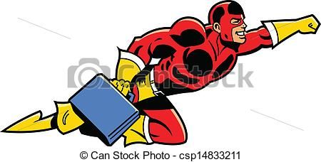 Business clipart superhero. Flying with superheros