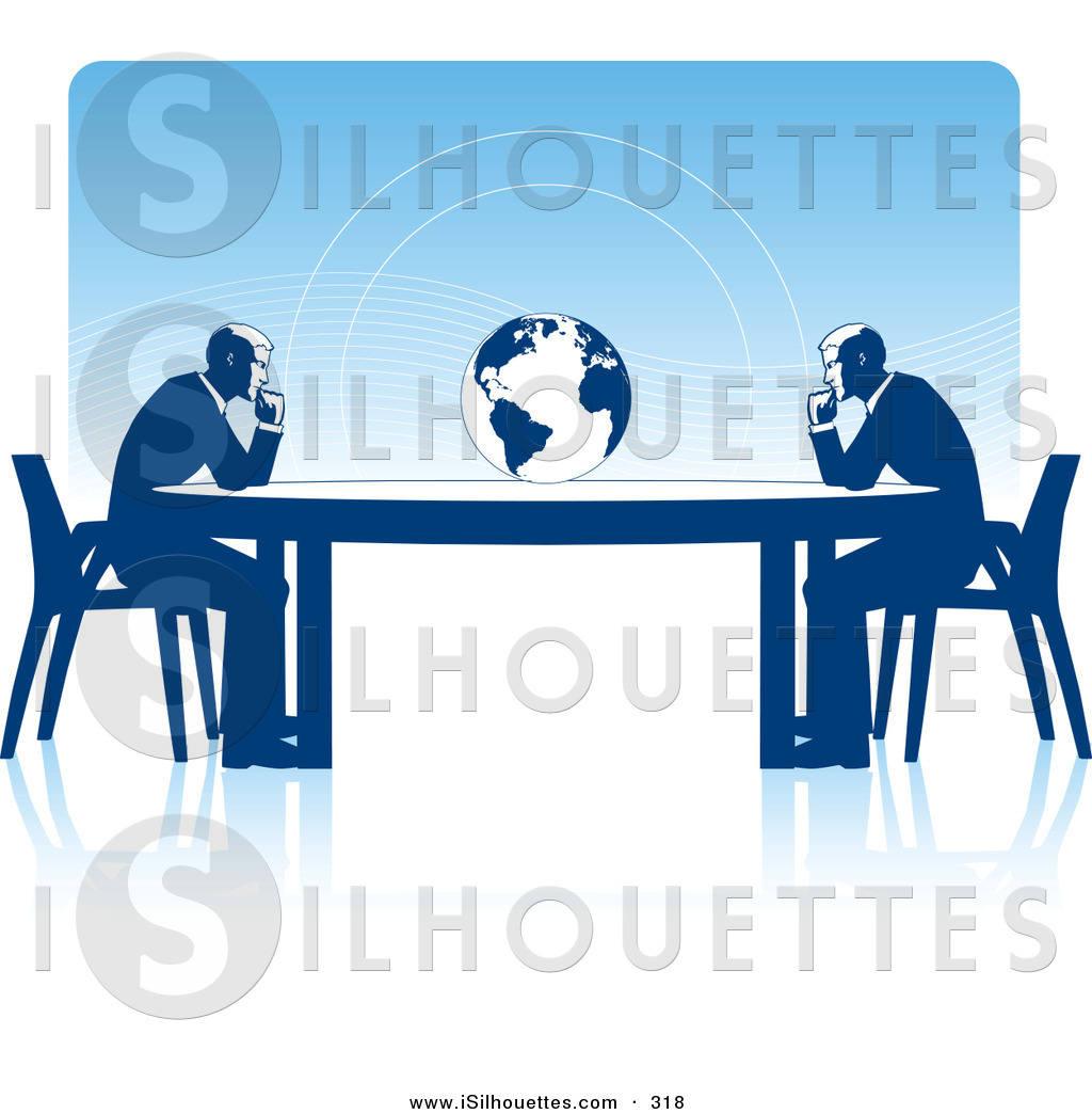 Business clipart trade. Silhouette of a couple