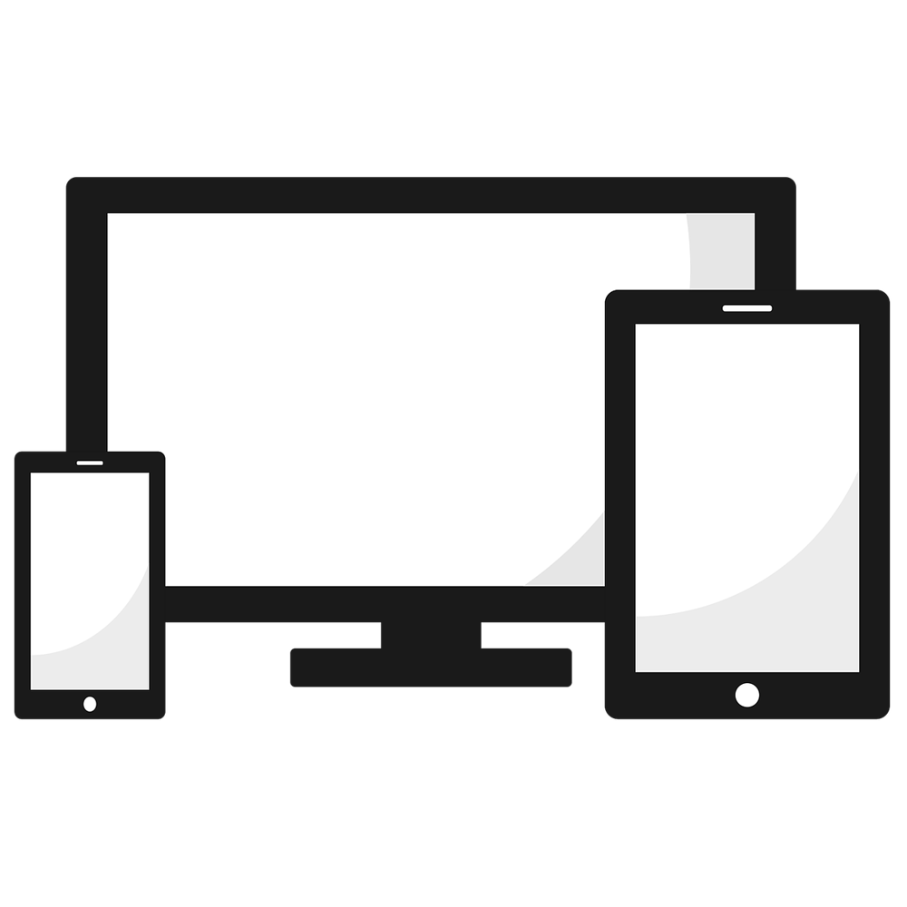 Responsive set png with. Clipart computer clear background