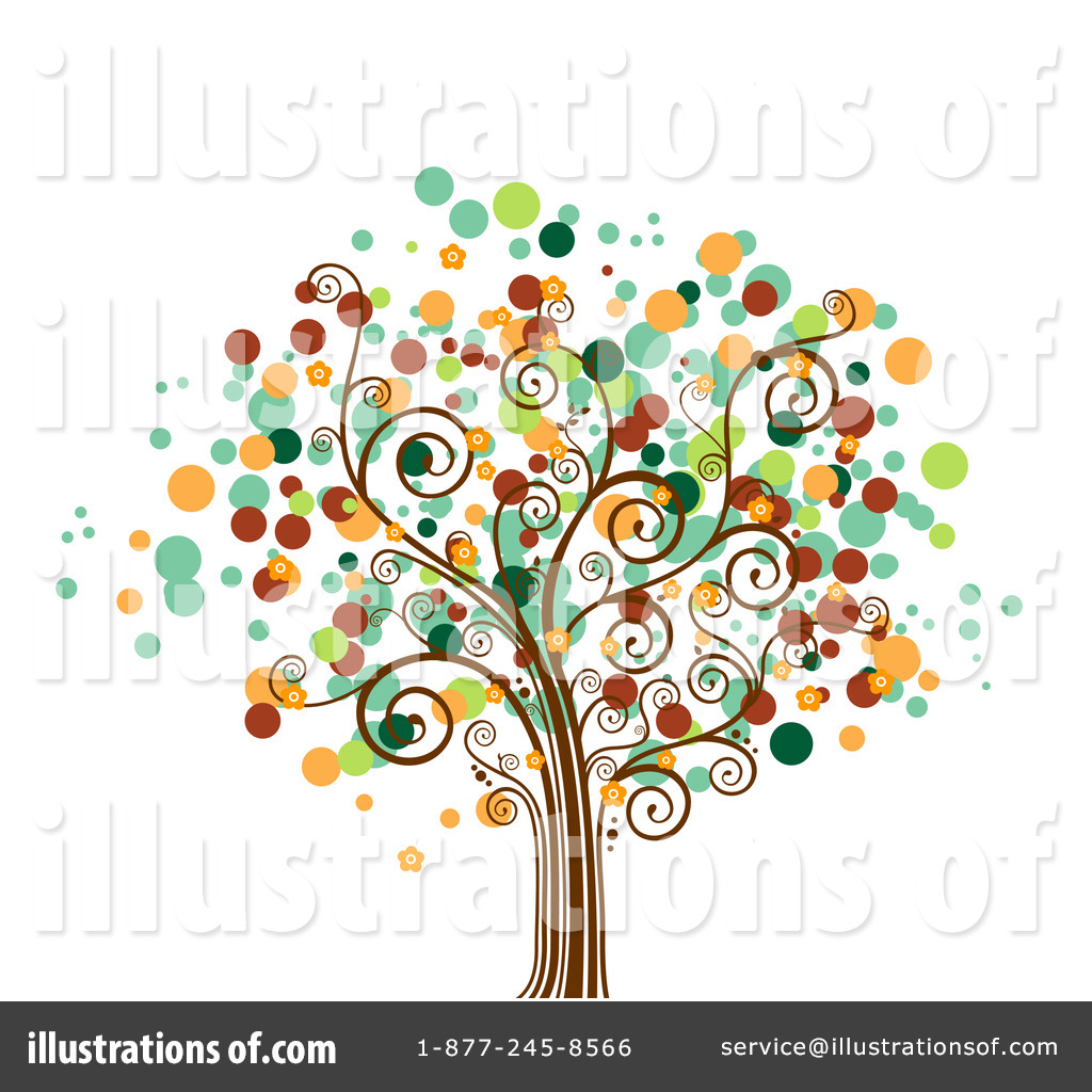 Business clipart tree. Illustration by bnp design