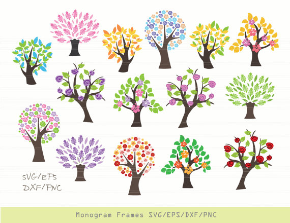 Business clipart tree. Svg sticker vinyl decal