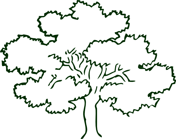 Drawing clip art at. Business clipart tree