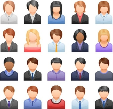Business clip art free. Clipart people