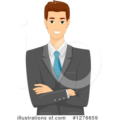 Businessman clipart. Illustration by bnp design