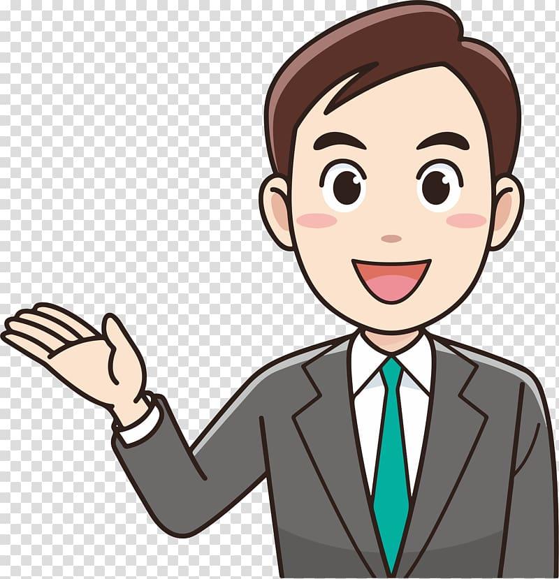 business transparent background. Businessman clipart