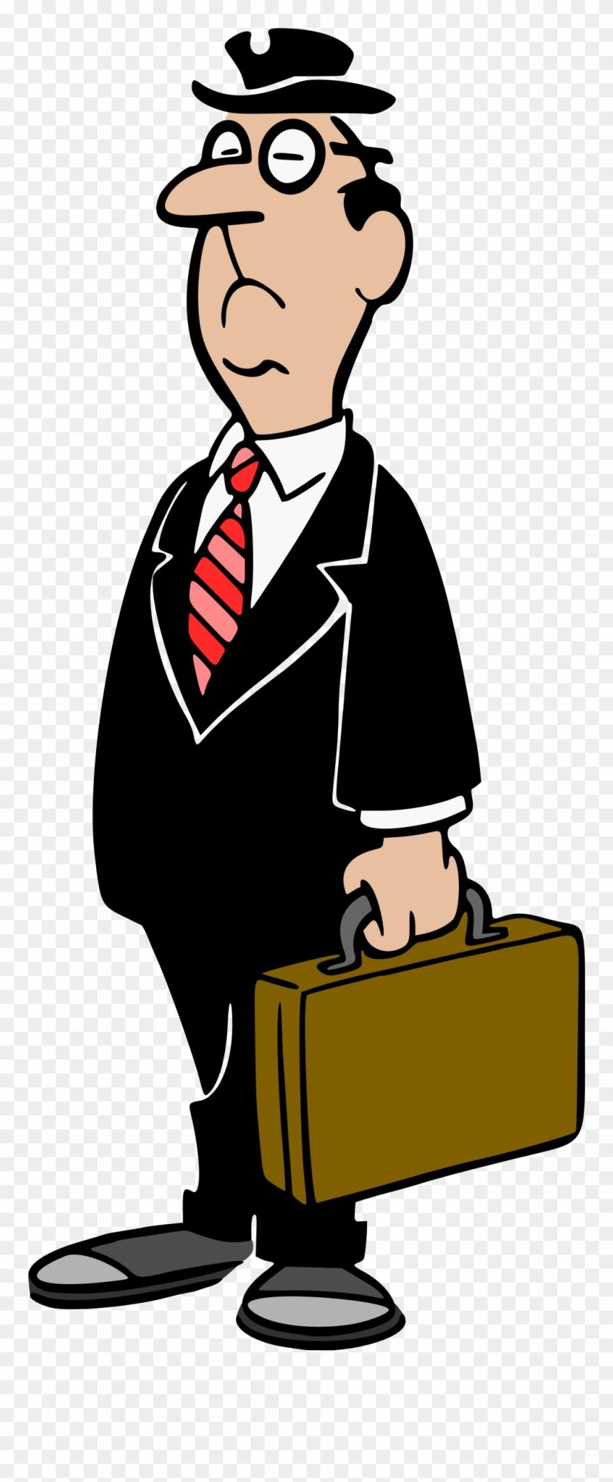 Businessman clipart. Colour big image png