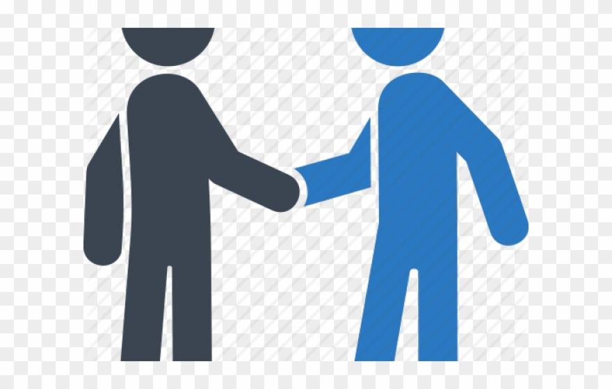 Handshake clipart business customer. Businessman collaboration people shaking
