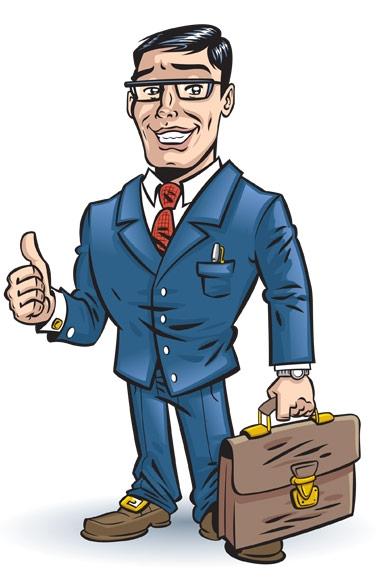 Man. Businessman clipart business guy